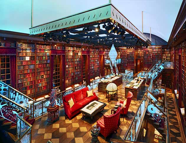 The Luxury Home Library